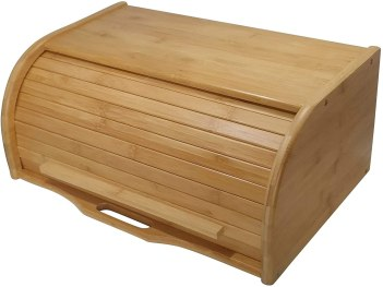 Extra Large Wooden bread box(Natural)