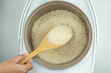 Sticky Rice In A Rice Cooker