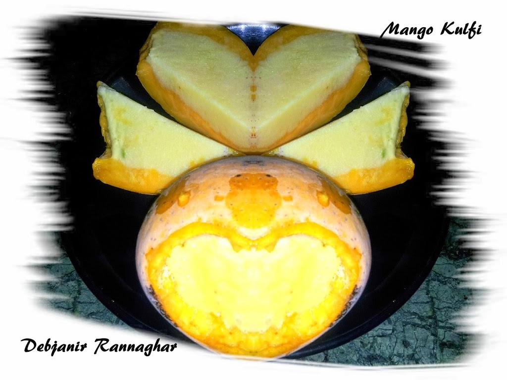 Mango Kulfi | Indian Mango Kulfi