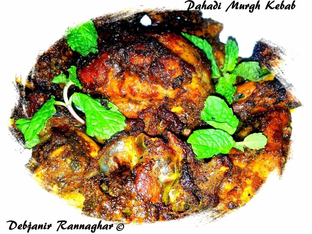 Pahadi Murgh Kebab