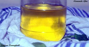 %Homemade clarified butter or Ghee Recipe