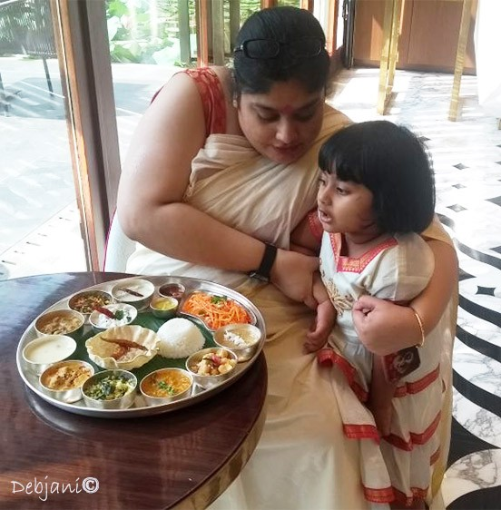 Sunday Onam Brunch at Eden Pavilion, ITC Sonar!