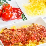 Low Carb Chicken Parmesan – with Spaghetti Squash