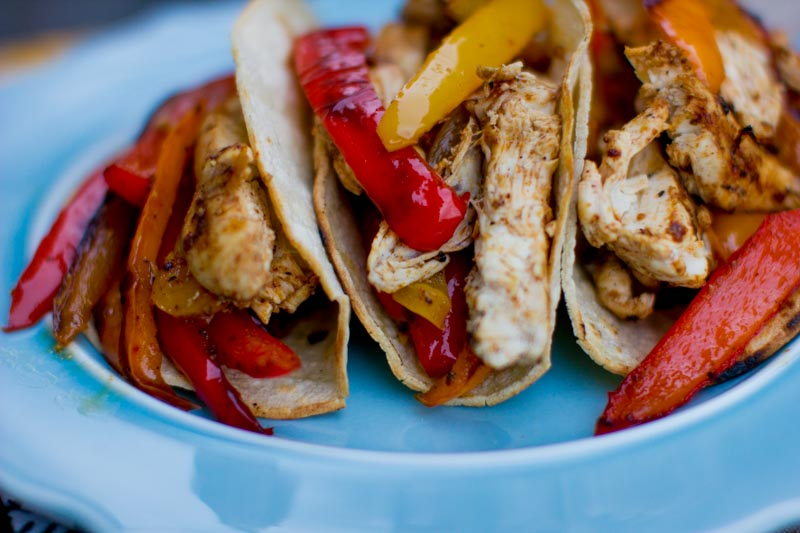 Delicious Chicken Fajitas
