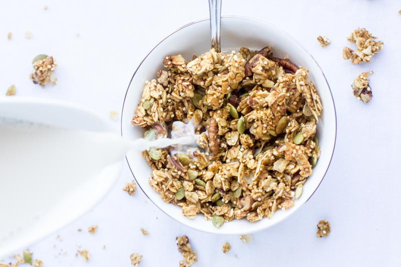 Healthy Granola Recipe | Pumpkin Spice