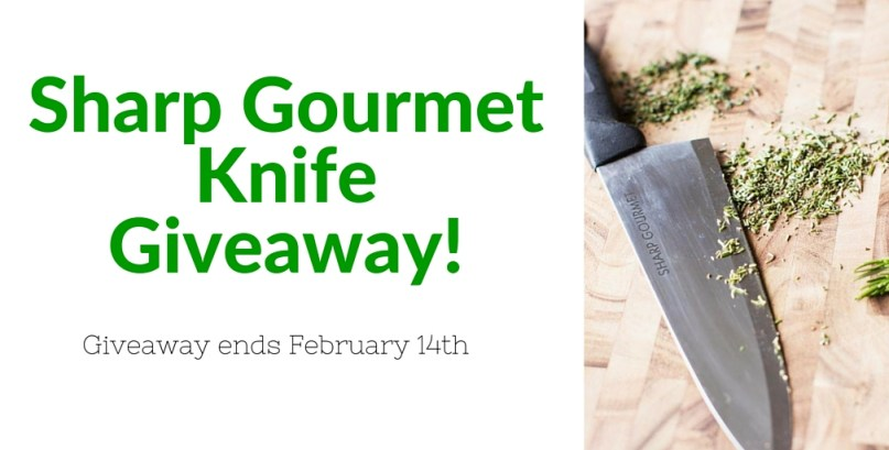 Win a free set of knives! Sharp Gourmet Knife Giveaway
