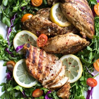 Best Grilled Chicken Recipe: Tender, juicy, never overdone, easy & quick. Can be made in bulk to feed a crowd/ save for later. Paleo, Whole 30, Clean Eating