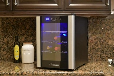 Avalon Bay AB-WINE12S Wine Cooler