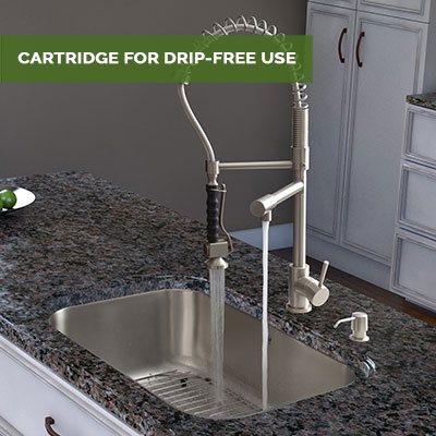 Cartridge for Drip-Free Use