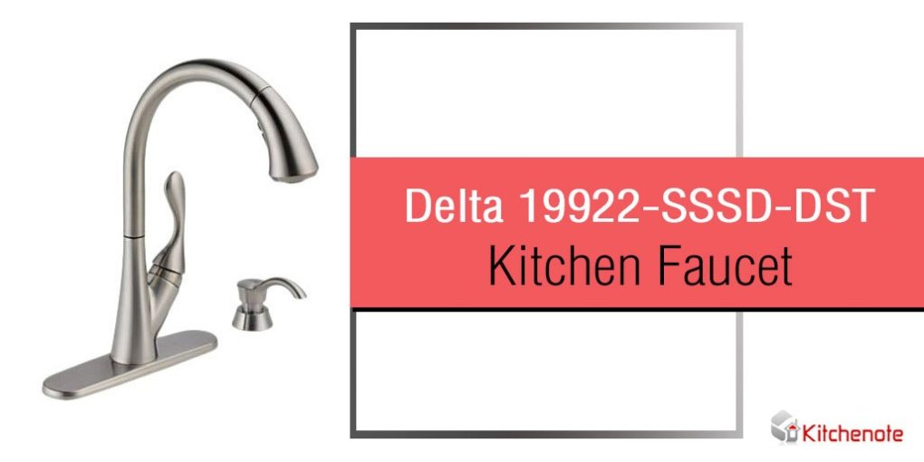 Delta 19922-SSSD-DST Ashton Single Handle Pull-Down Kitchen Faucet ...