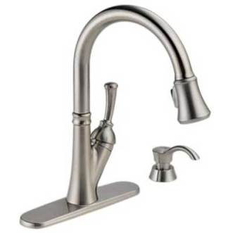Delta Savile 19949-SSSD-DST Single Handle Pull-Down Kitchen Faucet