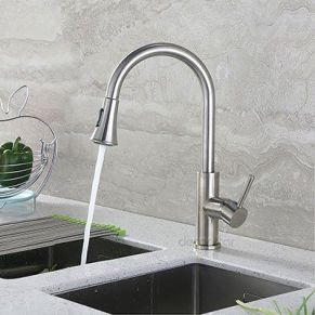 High Swivel Spout and High Flow Rate