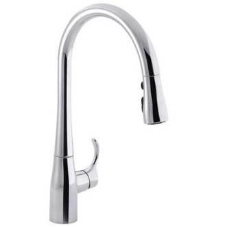 Kohler K-596-CP Simplice Kitchen Faucet