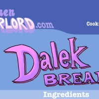 Edible Art: Dalek Bread Will Exterminate Your Hunger