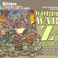Edible Art: World War Z...ombie tenderloins