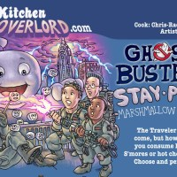 Edible Art: Ghostbusters Stay Pufft Marshmallow Heads