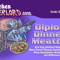 Edible Art: Diplomat's Dinner Meatballs