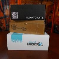 Nerd Box Review Trifecta: Loot Crate vs Nerd Block vs Booty Bin