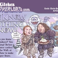 Edible Art: You Know Nothing, Snow!