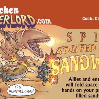 Edible Art: Spice Stuffed Squash Sandworms
