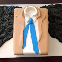 Geek Cake Friday: 12 Angelically Delicious Supernatural Castiel Cakes
