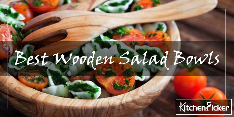 10 Best Wooden Salad Bowls Reviewed In 2019 Stylish Collections