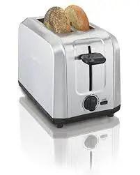 Hamilton Beach Brushed Stainless Steel 2-Slice Toaster (22910)