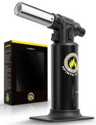 Kitchen Culinary Torch XPERTS FLAME. (BLACK