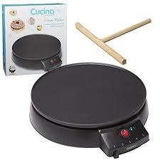 Crepe Maker and Non-Stick 12 Griddle- Electric Crepe Pan