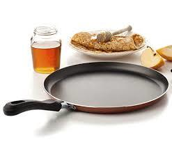 Large Crepe Pan 10 Inch Nonstick Coating and Bakelite Handle