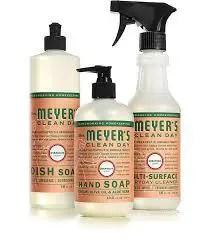 Mrs. Meyer's Clean Day Kitchen Basics Set, Geranium,