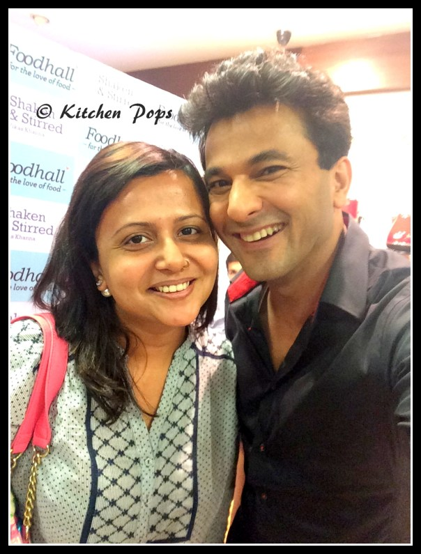 Chef Vikas Khanna with Kitchen Pops Coordinate Sonal Khandelwal