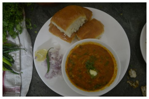 Pav Bhaji at home