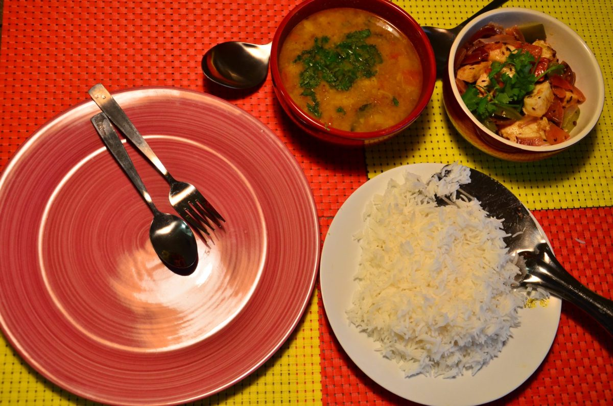 Quick Indian Dinner