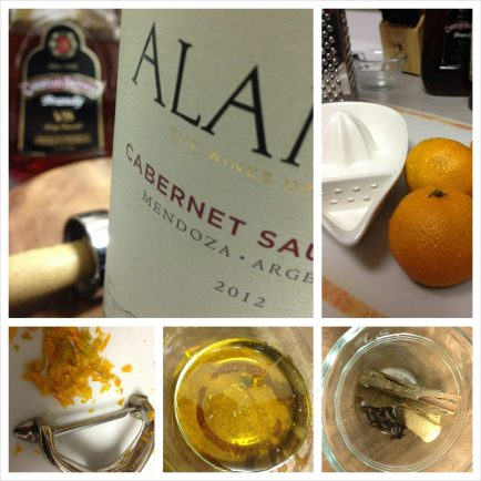 Wine, Fruit and Spices