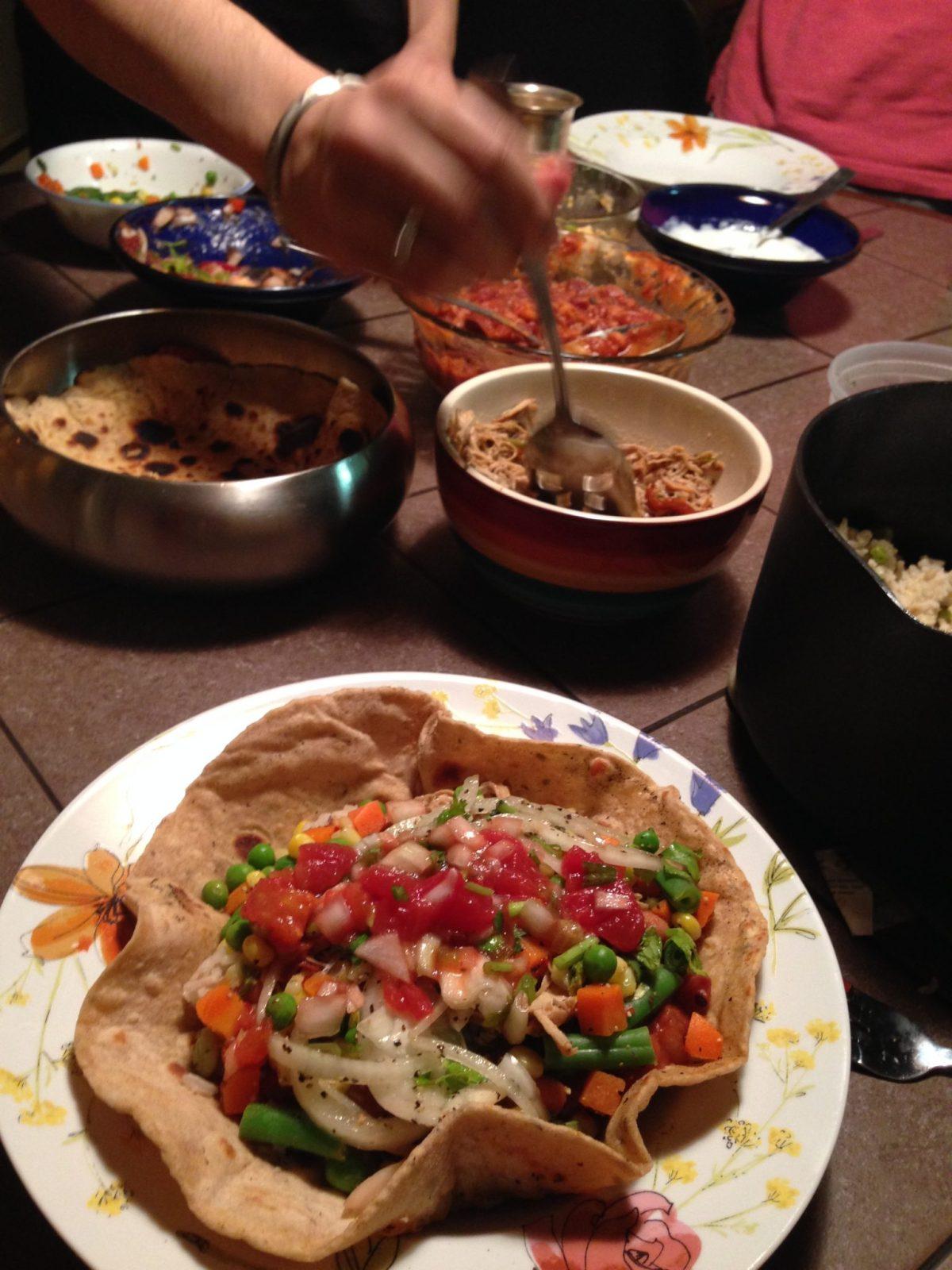 Homemade Burrito Bowls