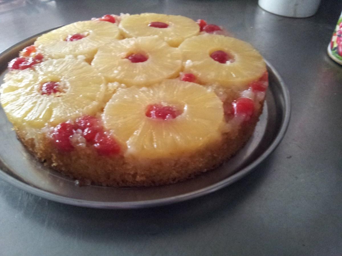 Best Pineapple Upside down Cake recipe
