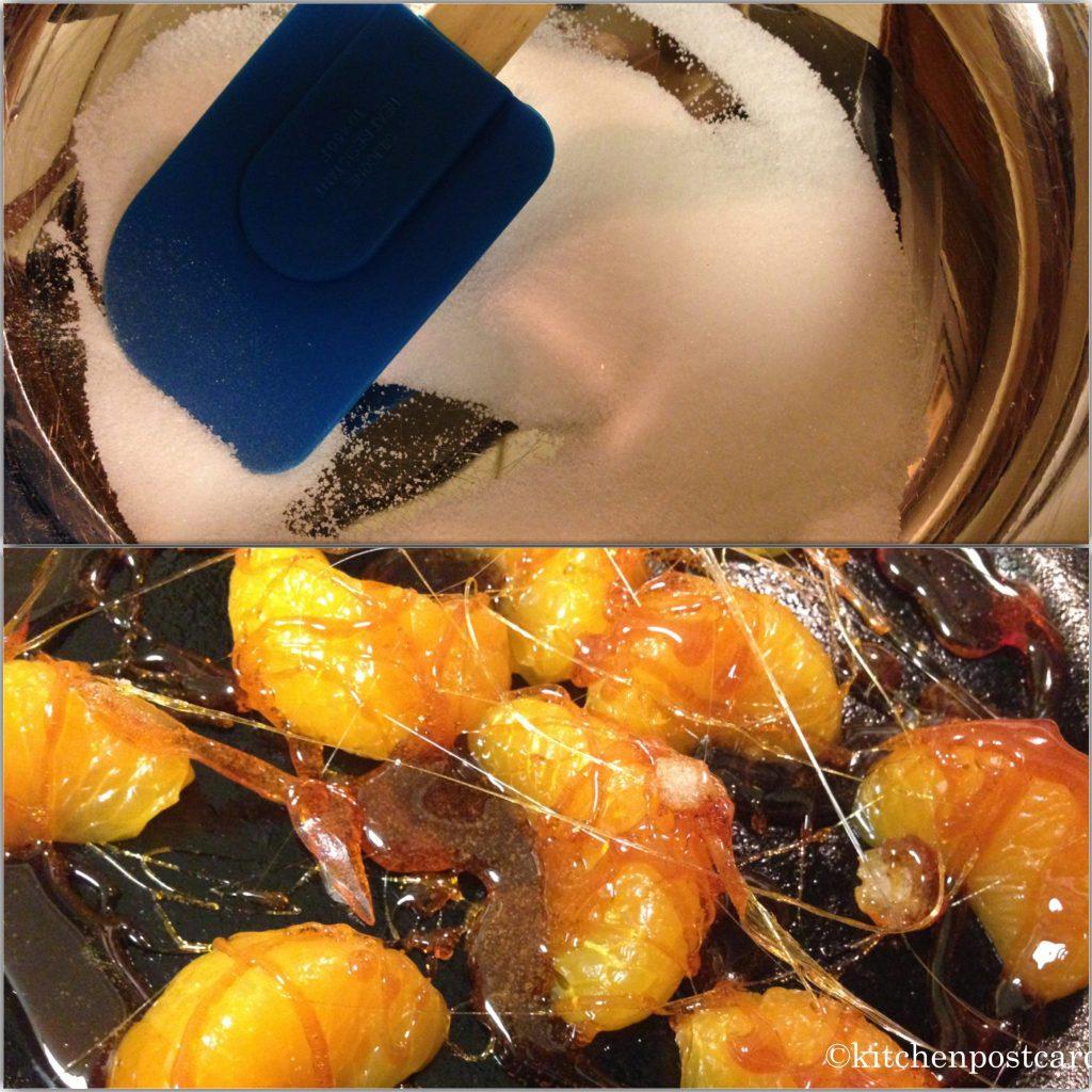 Mandarins and Caramelized Sugar
