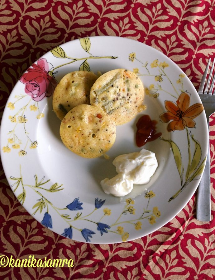 Masala Idli with Puliyogare Mix
