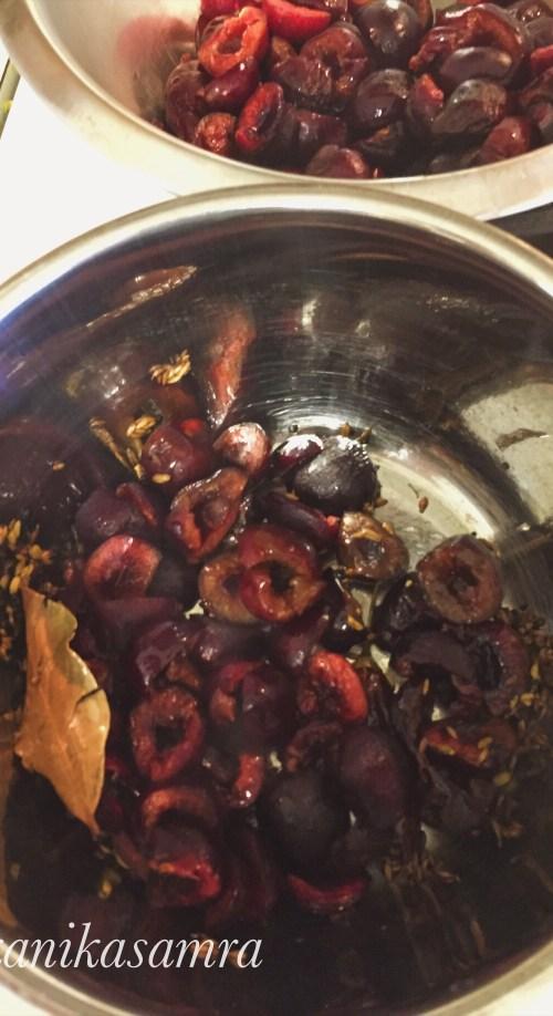 Cooking Cherries