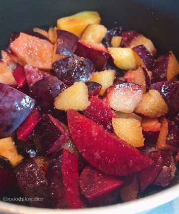 Easiest Plum jam/compote recipe