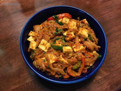 Easy Kadhai Paneer recipe for beginner cooks