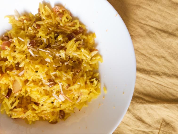 Tasty Sweet Pilaf recipe persian style