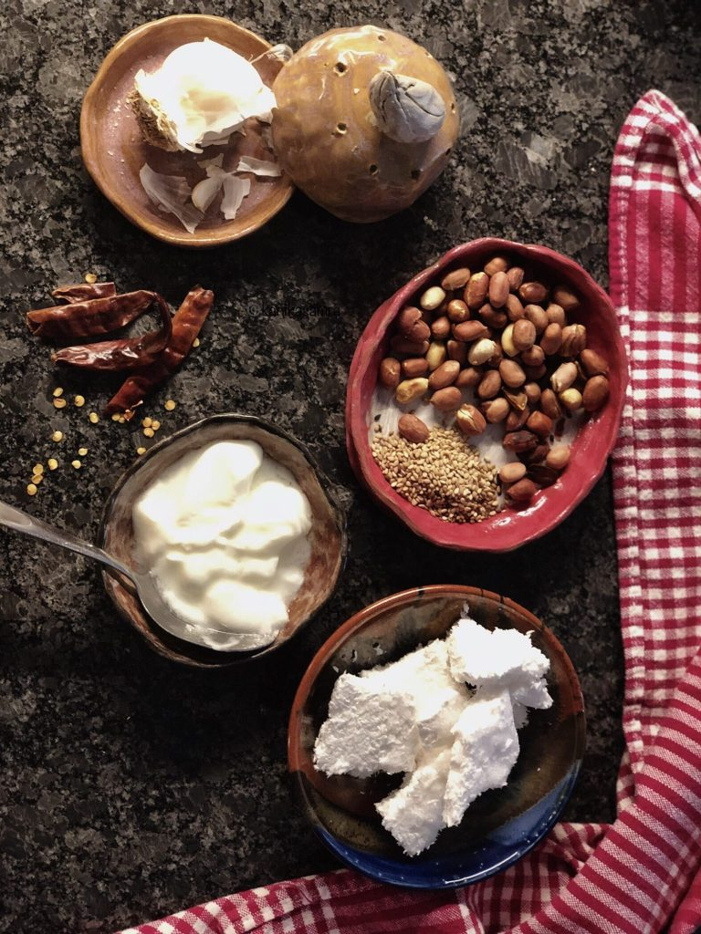 Coconut Peanut Chutney basics