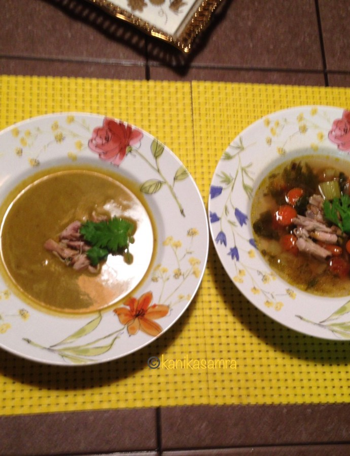 Chicken Soup Two Ways – A Must Have Recipe For Fall/Winter