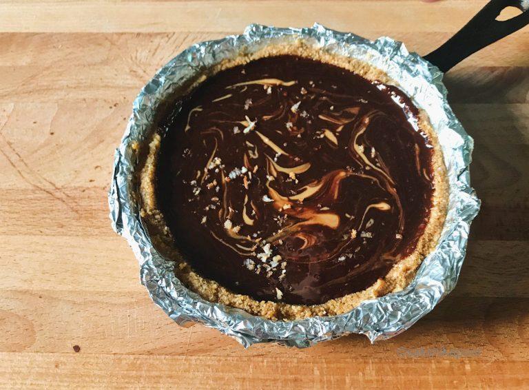 Salted Dark Chocolate Ganache tart recipe