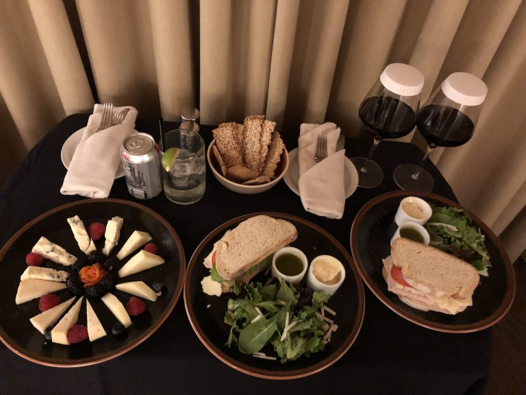 Meal at the Rosewood Inn of the Anasazi