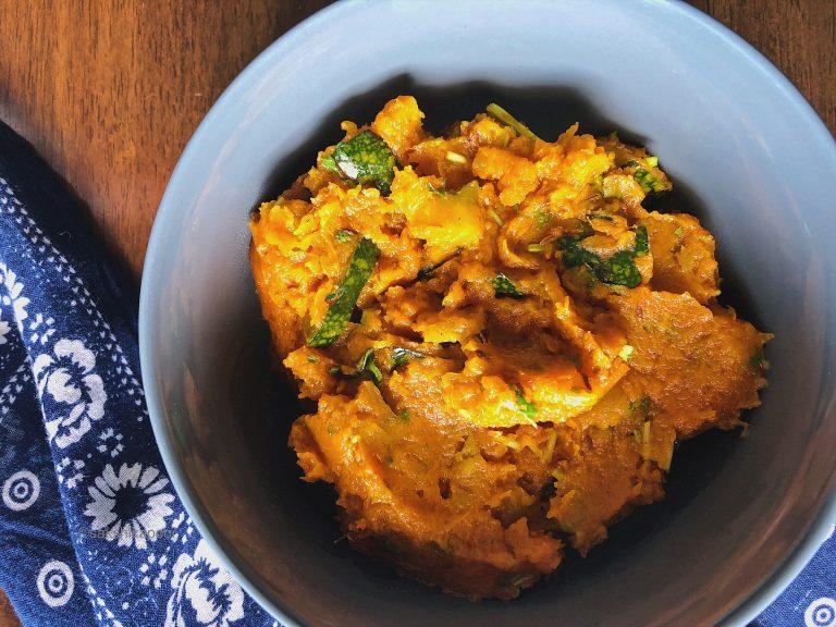 Kaddu ki sabzi sweet and sour recipe
