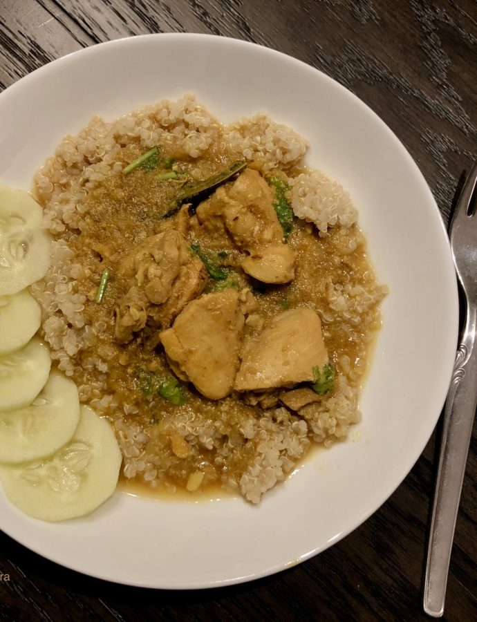 Three Ingredient Chicken Curry – weeknight savior!