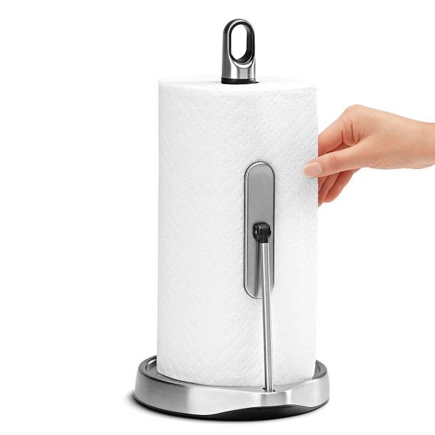 best rated paper towel holder